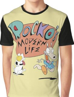 Rocko's Modern Life Graphic T-Shirt