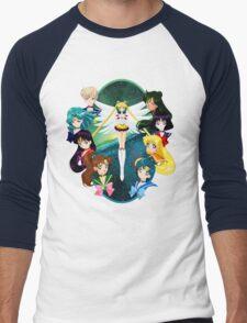 Sailor moon Sailor Stars Men's Baseball ¾ T-Shirt