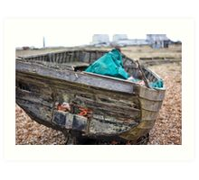 Dungeness Through a Prime Lens 12 Art Print