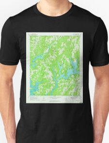 USGS TOPO Map Alabama AL Crane Hill 303602 1969 24000 Unisex T-Shirt