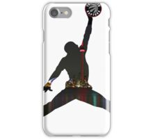 Toronto Raptors basketball silhouette iPhone Case/Skin
