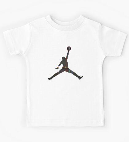 Toronto Raptors basketball silhouette Kids Tee