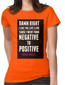 Positive and Negative... Womens Fitted T-Shirt
