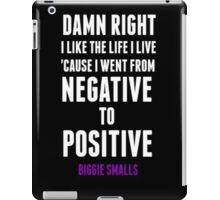 Positive and Negative... iPad Case/Skin