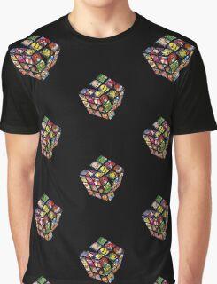 80s Cartoons Graphic T-Shirt