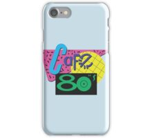 Back To The Cafe 80's iPhone Case/Skin