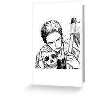 Manga Boy. Greeting Card