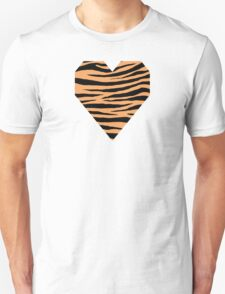 0614 Sandy Brown Tiger Unisex T-Shirt