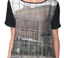 Building Reflections  Chiffon Top