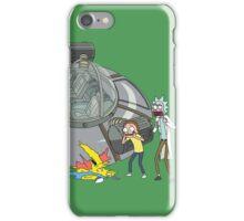 Rick and Morty Crash Gag iPhone Case/Skin