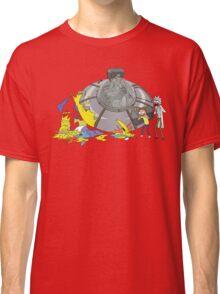 Rick and Morty Crash Gag Classic T-Shirt