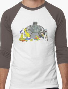 Rick and Morty Crash Gag Men's Baseball ¾ T-Shirt