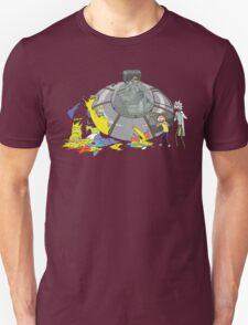 Rick and Morty Crash Gag Unisex T-Shirt