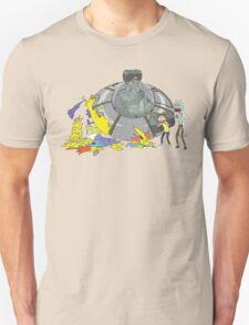 Rick and Morty Crash Gag T-Shirt