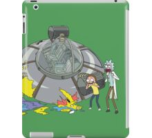Rick and Morty Crash Gag iPad Case/Skin