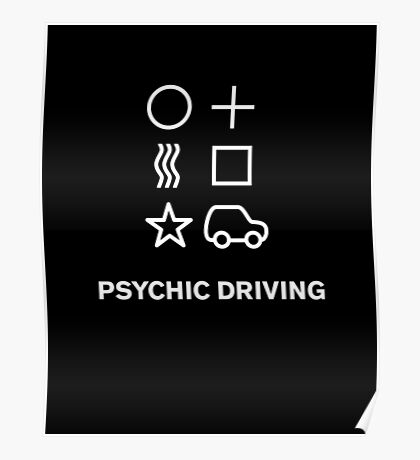Psychic Driving  Poster