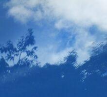 Sky Trees Sticker