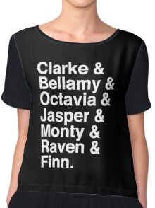 The 100 Team Chiffon Top