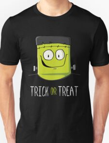 Frankenstein Trick or Treat Unisex T-Shirt