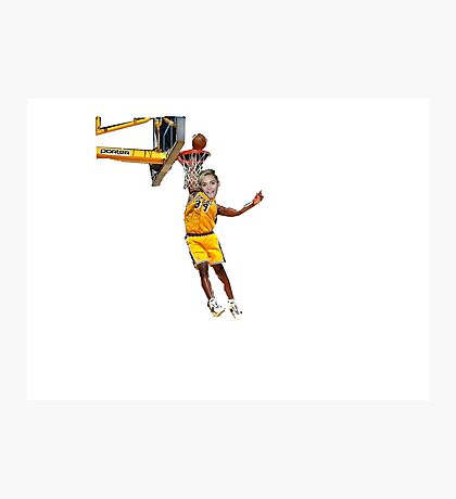 Miley Dunks Photographic Print