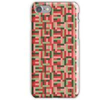 Line Block Pattern iPhone Case/Skin