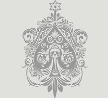 Ace of Spade (Grey) Unisex T-Shirt