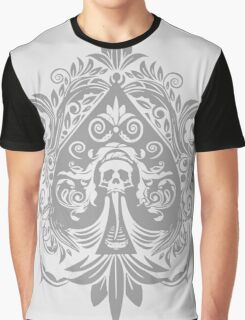 Ace of Spade (Grey) Graphic T-Shirt