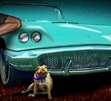 Easy Rollo Mommy's In Trouble - 58 T-Bird by ChasSinklier