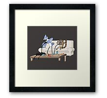 Video Game Wizards Framed Print
