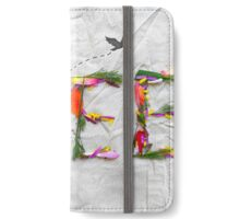 Free ft. flowers iPhone Wallet/Case/Skin