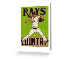 RAYS COUNTRY Greeting Card
