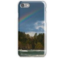 Rainbow Over the Sea iPhone Case/Skin
