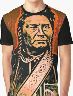 Chief Joseph (Hinmatóowyalahtq̓it) Graphic T-Shirt