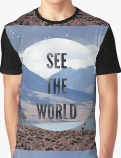 See the World Graphic T-Shirt
