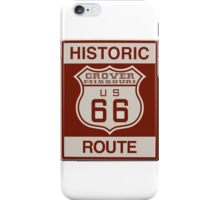 Grover Route 66 iPhone Case/Skin