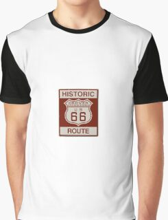 Grover Route 66 Graphic T-Shirt