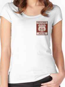 Grover Route 66 Women's Fitted Scoop T-Shirt
