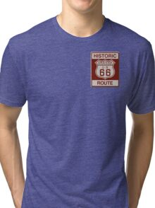 Grover Route 66 Tri-blend T-Shirt