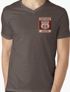 Grover Route 66 Mens V-Neck T-Shirt