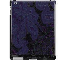USGS TOPO Map Alabama AL Doran Cove 20111013 TM Inverted iPad Case/Skin