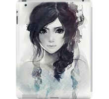 Girl. iPad Case/Skin