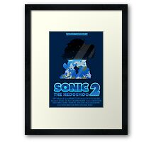 Sonic The Hedgehog 2 Framed Print