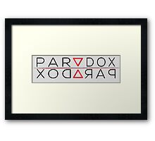 Paradox - Impossible Triangle Framed Print