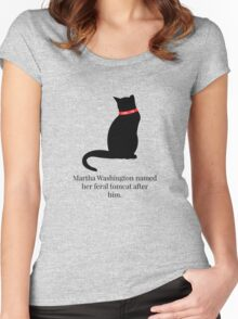Hamilton Feral Tomcat Women's Fitted Scoop T-Shirt