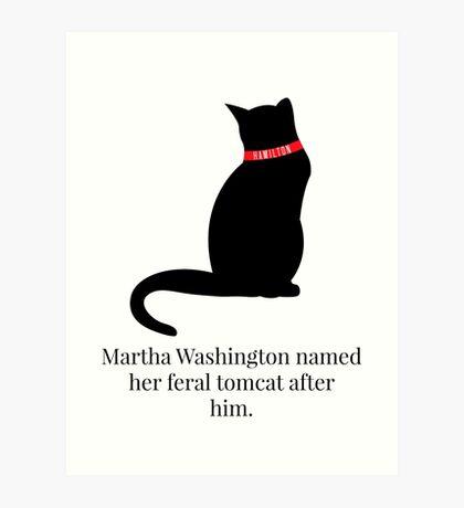 Hamilton Feral Tomcat Art Print