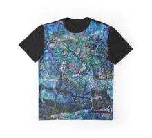 """Alchemical Secrets - """"The Stag And The Unicorn"""" Graphic T-Shirt"""