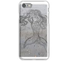 Mermaid Sand Drawing iPhone Case/Skin