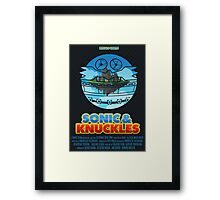Sonic & Knuckles Framed Print