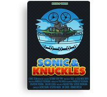 Sonic & Knuckles Canvas Print