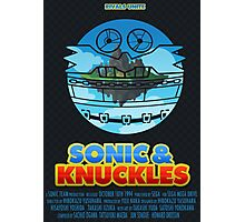 Sonic & Knuckles Photographic Print